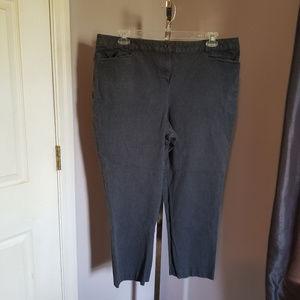 Lane Bryant Cropped Jeans Size 22